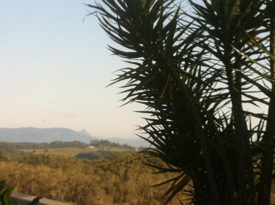 Cape Byron Retreat : stunning view on mt warning