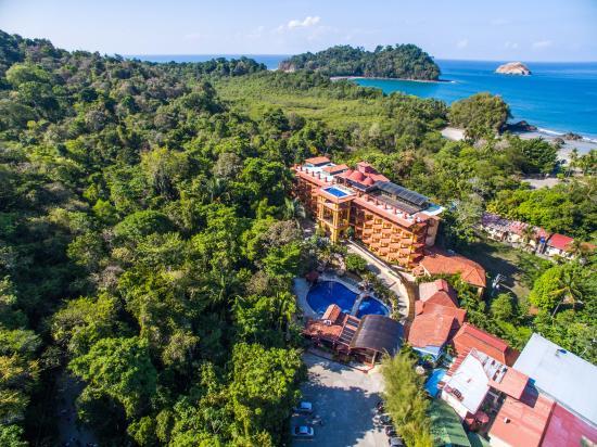 Hotel San Bada: Aerial view