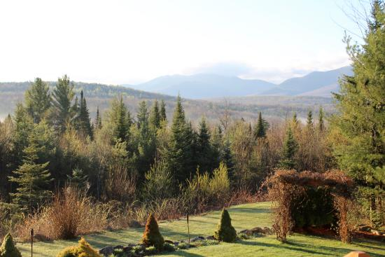 Bethlehem, NH: View from the deck.