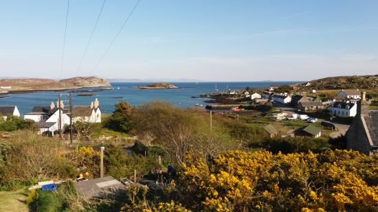 Isle of Coll, UK: Arinagour village view