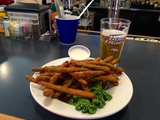 South Fork, CO: Fried Asparagus!