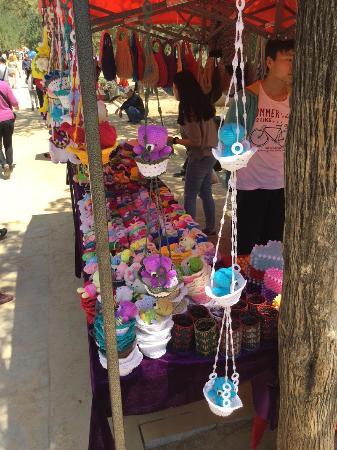 Qian County, Cina: 乾陵内のお土産物屋