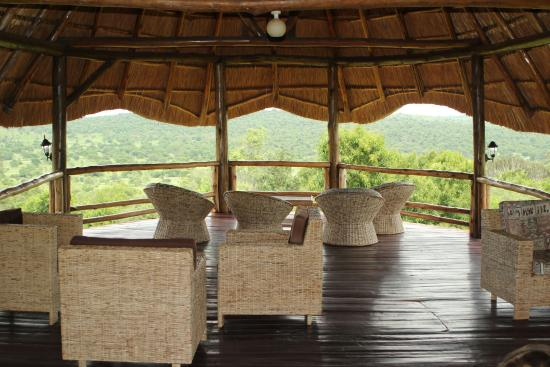 Mburo Safari Lodge: Upstairs at the main pavilion
