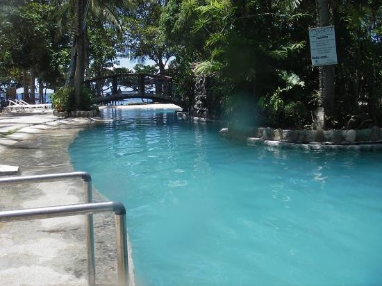 Tambuli beach club west hotel cebu island philippines for Club piscine west island