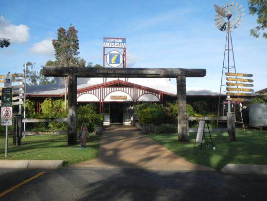 Mareeba, Australie : Tourist Information Centre and Heritage Musuem