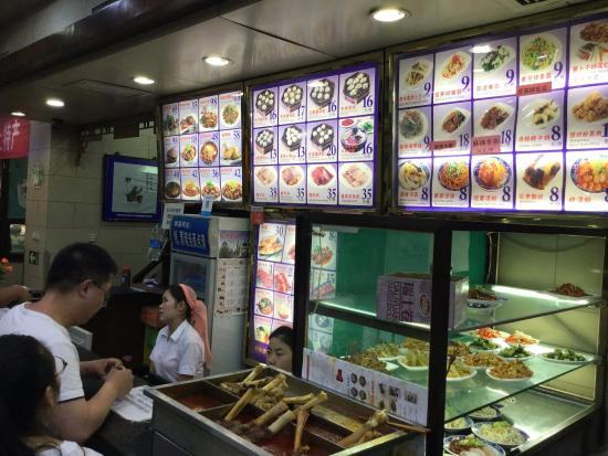 西安贾三灌汤包子馆(回民街店), メニュー