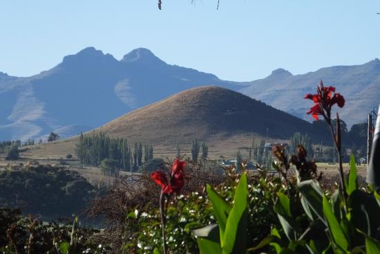 Lake Clarens Guest House: A view from the table