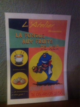 L'Atelier: Realisation  a l atelier restaurant a saint georges de didonne