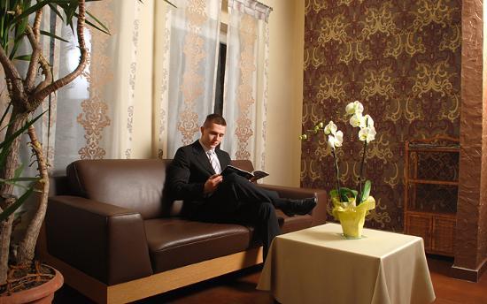 Hotel Debina: Recepcja
