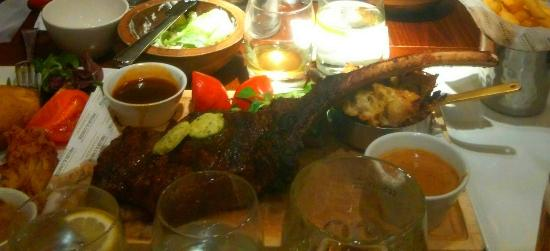 how to cook a tomahawk steak uk