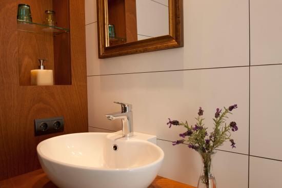 l'Aixart Aiguablava Hotel: Baño