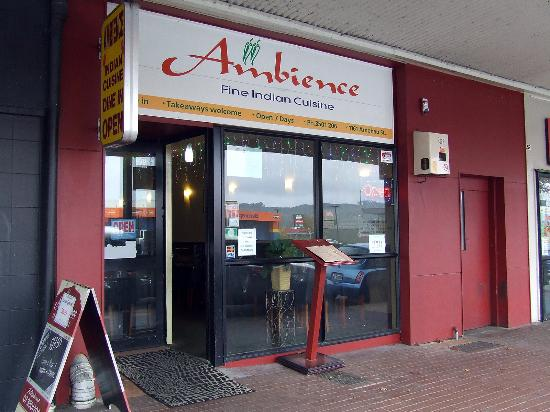 Ambience Fine Indian Cuisine: Restaurant front