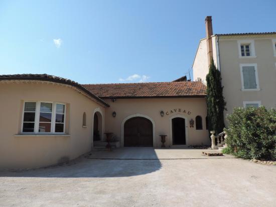 Domaine Juliette Avril: Le caveau à Chateauneuf-du-Pape