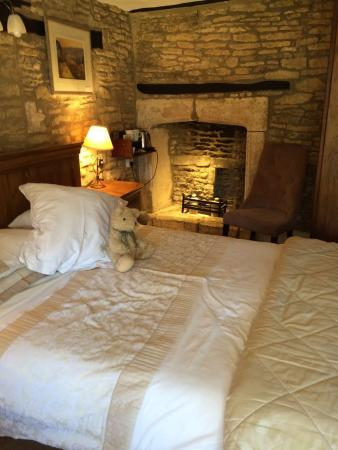 Great Rissington, UK: Room 1. Located in 500 year old part of the building.