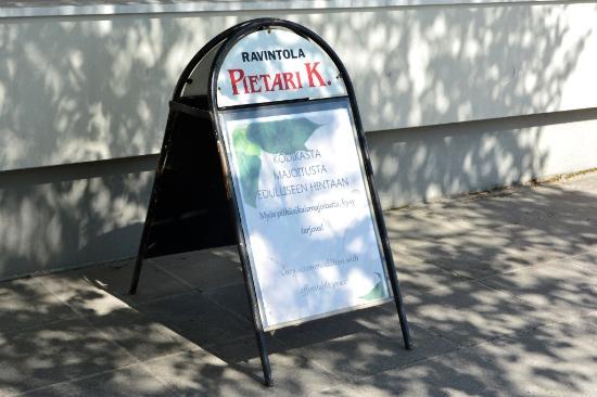 Restaurant Pietari Kylliainen