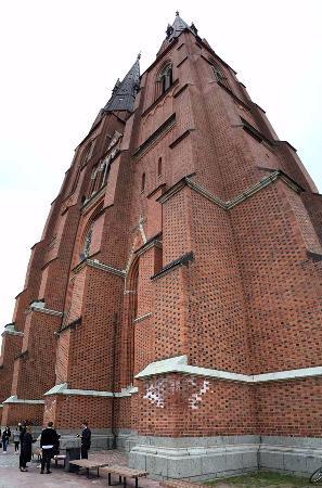 Uppsala domkyrka exterior