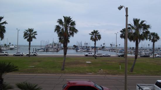 Super 8 Corpus Christi/Bayfront Area: The view from our room