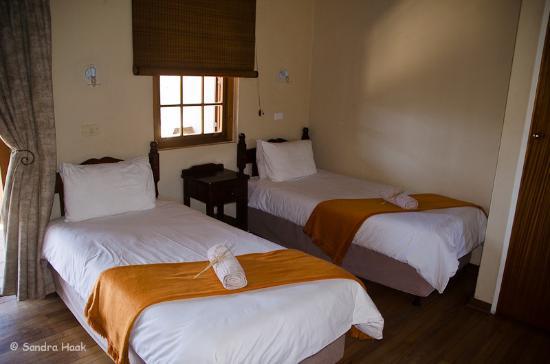 Karoo National Park Unterkunfte: Schlafbereich