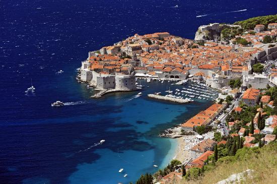 Croatie : Banje Beach, Dubrovnik
