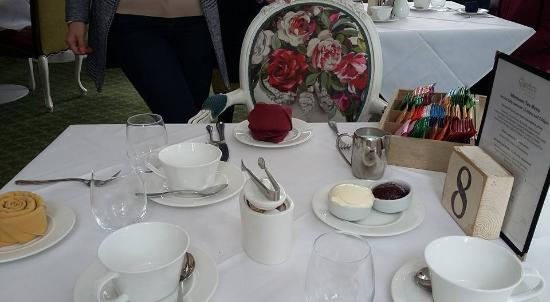 Orsett, UK: Our Table at the Garden Restaurant