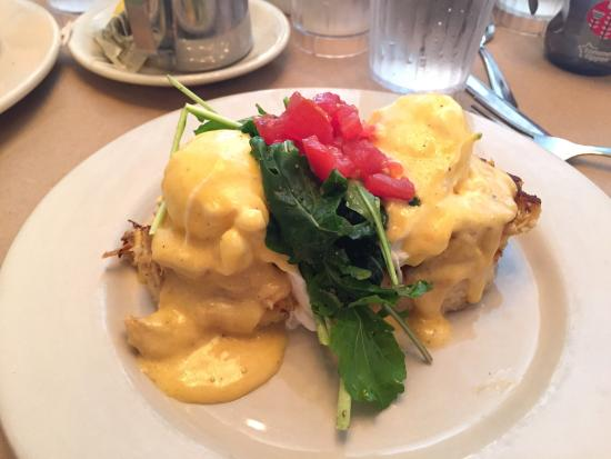 Palmer's Village Cafe: Incredible!! The Surf Squared and Green Eggs and Ham