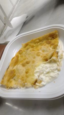 Antica Sciamadda: Focaccia con il formaggio