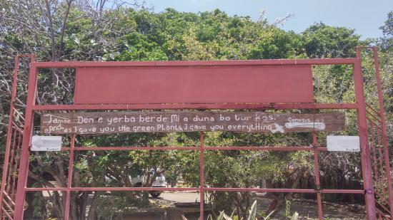 Den Paradera - Dinah's Botanic & Historic Garden: Mooie spreuk