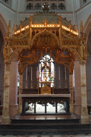 Sint-Katelijne-Waver, Bélgica: altaar kloosterkerk