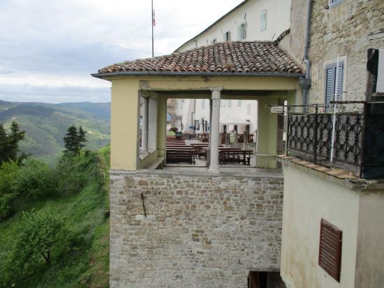 Villa Borgo: uitzicht van terras