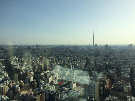 Mandarin Oriental, Tokyo: View to the East (Tokyo Skytree)