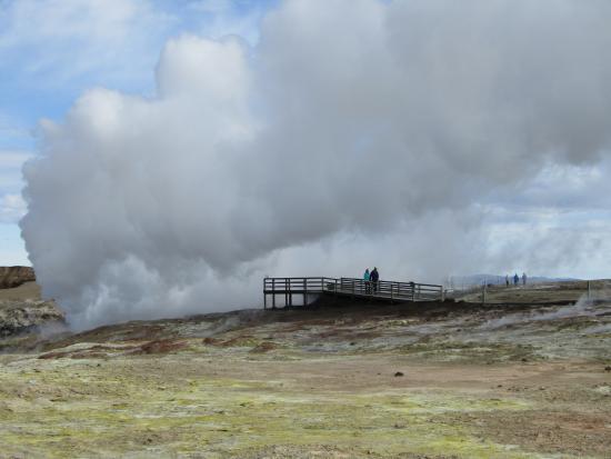 Grindavik, Islanda: Gunnuhver Hot Springs