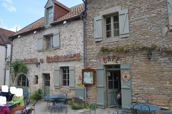 Chateauneuf, Frankrike: La terrasse