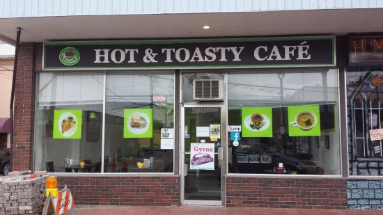 Hot & toasty cafe
