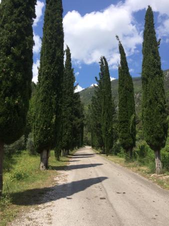 Abbazia San Pietro in Valle: arrivée