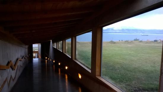 Hotel IF Patagonia: Couloir menant aux chambres