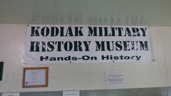 Kodiak, Alaska: Sign