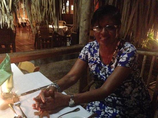 Kariwak Village Restaurant: Enjoying the ambiance of a fine restaurant