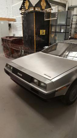 Coventry, UK: A car museum isn't complete without a Delorean.