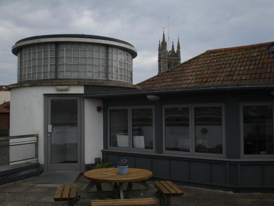 Teign Heritage -Teignmouth & Shaldon Museum: Top floor cafe, Teignmouth & Shaldon Museum