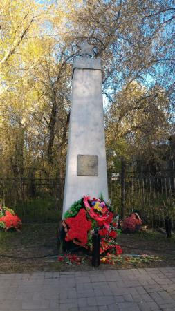 Monument to the Students of Nizhneisetskiy Orphan Home