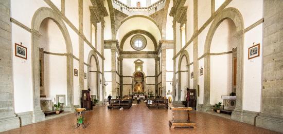Santa Maria del Calcinaio: Interni.