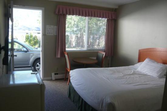 Harrison Spa Motel: Queen room