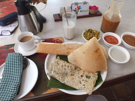 The Green House: Dosa-Platte