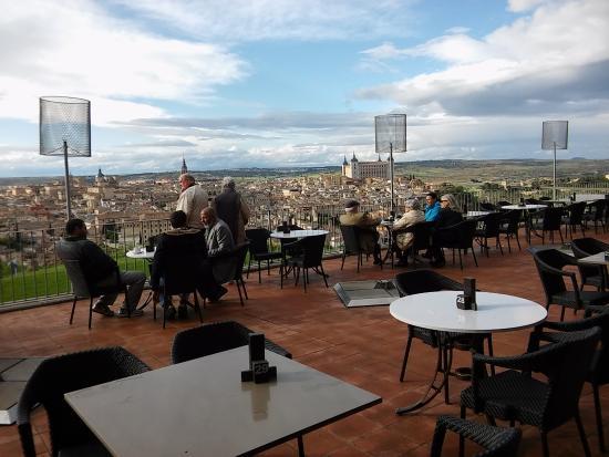 Desde La Terraza Del Bar Picture Of Parador De Toledo