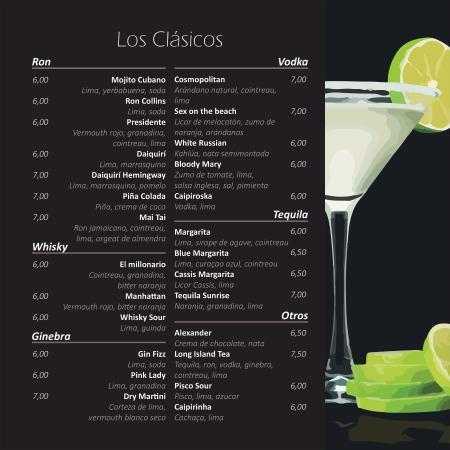 Cocteles cl sicos picture of el encanto cocktail bar - Apliques de pared clasicos ...