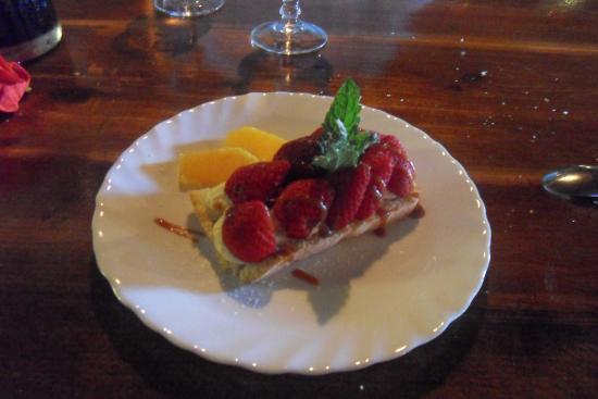 Figari, Francia: un dessert frais et fruité