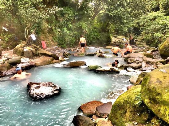 Le parc national de Yangmingshan : Small but awesome, off limits hot spring