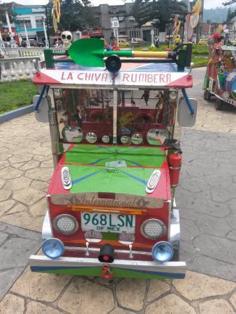 Parque Las Araucarias: Mini Chiva