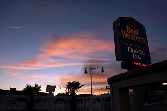 Best Western Travel Inn: From the parking lot