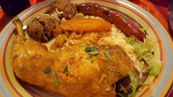 Tassili : Couscous Royal Poulet